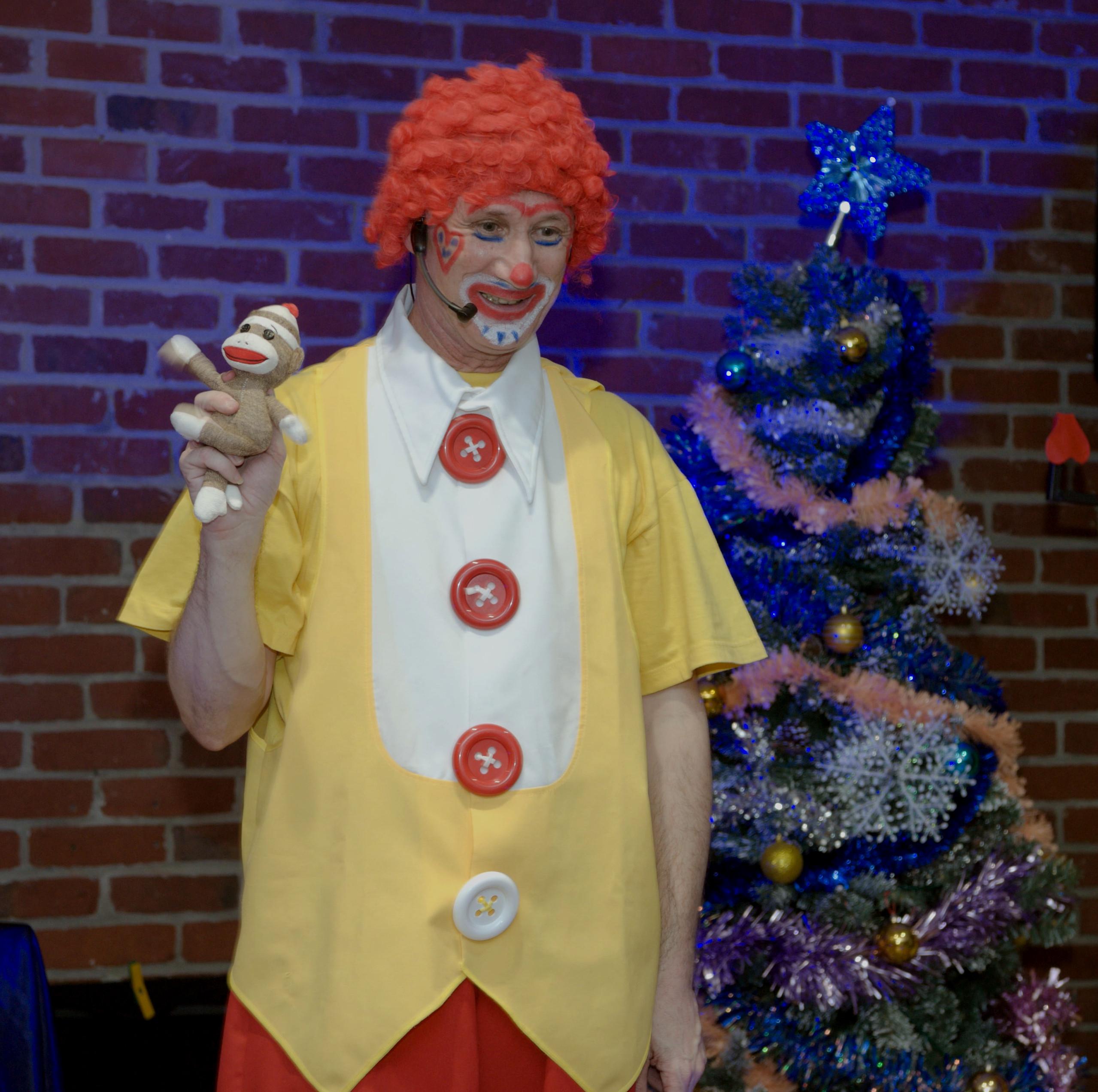 picolus, clown magicien